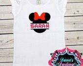 Miss Mouse personalized shirt, vinyl shirt, toddler shirt, custom vinyl tee