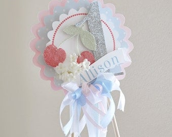 Sweet as Pie Birthday Cake Topper, Centerpiece