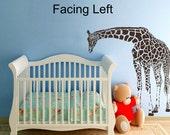 LARGE Giraffe Wall Decals Vinyl Decal Wall Vinyl Design