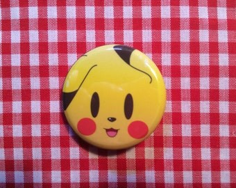 Pikachu (Pokemon) Button
