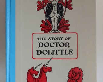 1948 The Story of Doctor Dolittle By Hugh Lofting