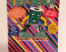 A New Dimension Mega Lace Extra Wide Plastic Lacing Book