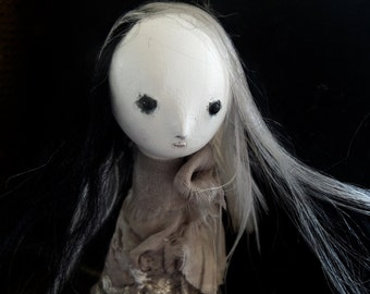 OOAK Art Doll - Lunar Garden - Isis