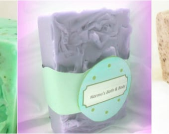glycerin soaps. buy 2 and get 1 free, bath, beauty, soaps, normas bath, glycerin soap, handmade soap