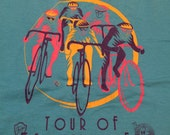 Vintage Tour of Somerville Bicycle T-Shirt