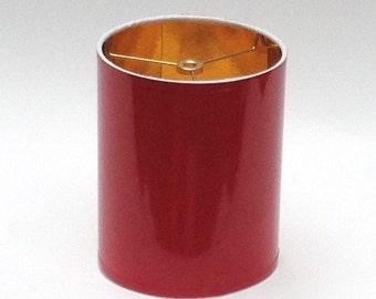 High Gloss Red Lamp Shades