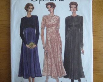 Vogue Pattern 8796 Misses' Dress      1993      Uncut