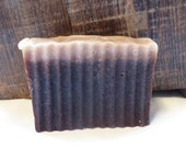 Turkish Mocha Scented Luxury Cold Process Rustic Soap with Cocoa Butter - Palm Free