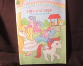 Reserved - My Little Pony - Book - Hide-And-Seek Coloring book