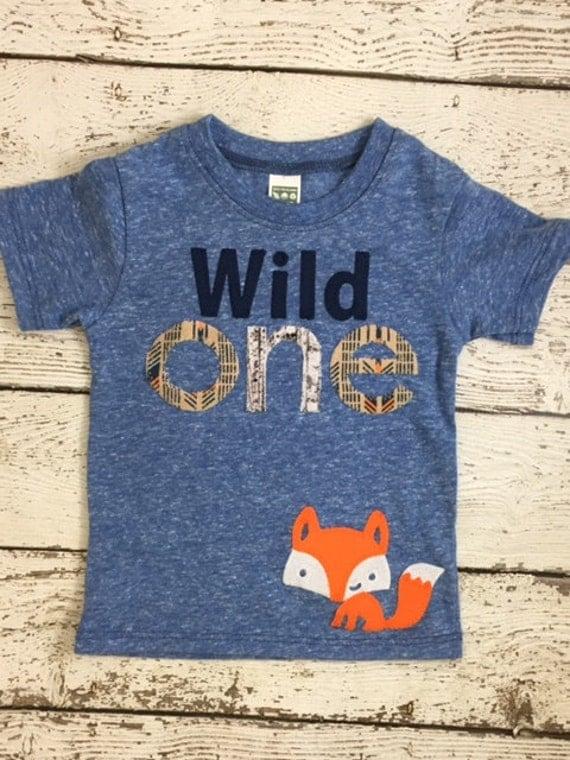 Wild one birthday shirt First birthday shirt Wild 1 organic