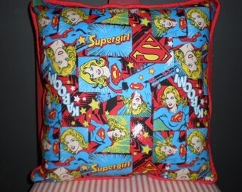SALE Supergirl Pillows