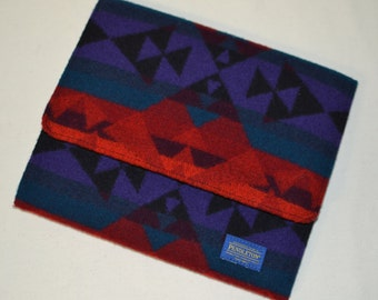 Pendleton® iPad Case Cover Sleeve Pendleton® electronics cases Native American wool tablet case