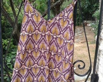 Elegant long flare dress/India