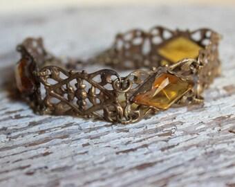 Vintage Antonieta Filigree Bracelet