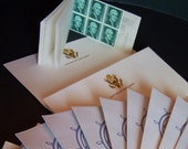 Stationery US Army Stationery 1960s 1-Cent Stamps Envelopes