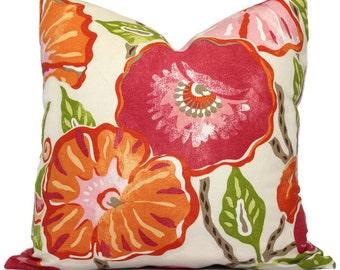 Thibaut Nassau Flower  Decorative Pillow Covers 18x18, 20x20 or 22x22, or lumbar pillow, Floral pillow, Toss Pillow, Accent pillow