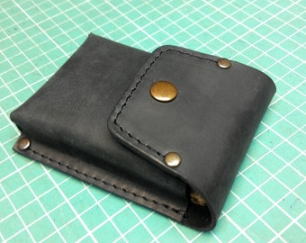 Handmade genuine leather Handcrafted Wallet for iBasso DX50 or cards, holder purse ,holds 20 cards some cash mini bag dift ideas