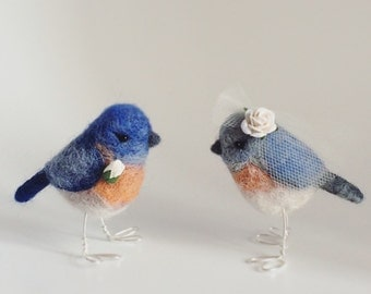 Bespoke Bird Wedding Cake Toppers