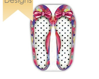 Shoe Memo Pad Fashion Statement Stationery - Show Note Pads | Pumps Novelty Stationery. Fashionista Favor Gift Ideas. Diva shoe note pads