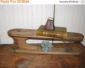 Valentine SALE Vintage Wooden Ironing Board ,  Small Display Stand