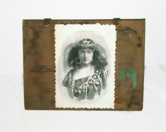 Vintage Cigar Box with Opera Star Belshire #2