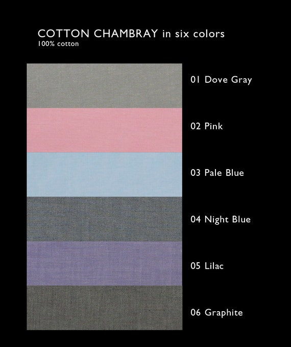 Chambray color