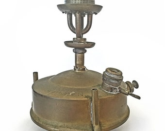 Vintage Made in Sweden Rare Brass PRINCE No 105 Camping, Hiking, Outdoor Primus Stove Burner from 30s-50s