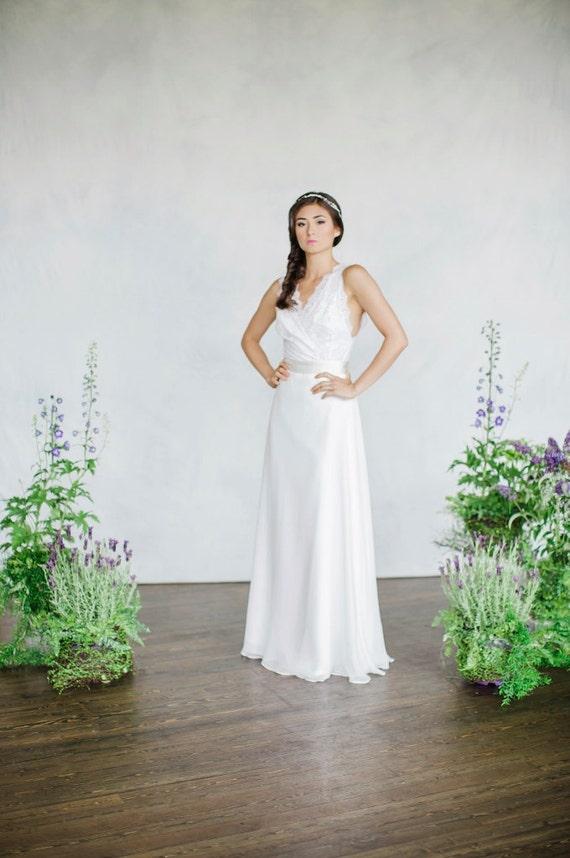 Bridal Separates Bridal Skirt Lace Top Chiffon Skirt