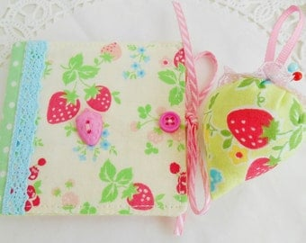 Strawberry Themed Sewing Kit