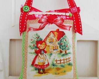 Little Red Riding Hood Themed Pincushion