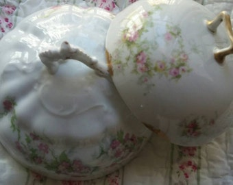 Pair of French Cheese or Butter Covers
