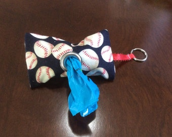 Baseball Dog Waste Bag Dispenser