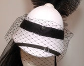 Steampunk Victorian ladies veiled pith helmet travellinglass