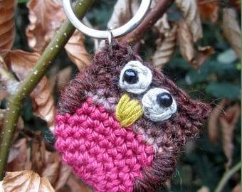Silly Owl Keyring