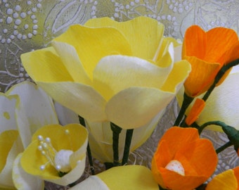 Sunshine Bouquet - Terracotta pot - Anniversary, birthdays, wedding showers, baby showers, gifts