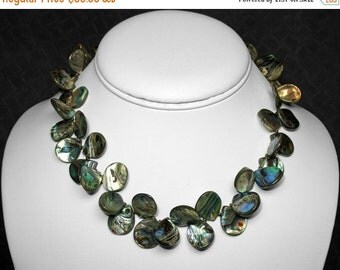 Abalone Necklace in Silver