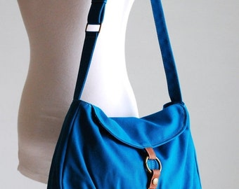 Mother's Day SALE 30% Off + Mysterious Gift - Fortuner-S in Teal / Centre Zipper Pocket / Purse / Laptop / Shoulder / Messenger Bag