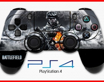 Battlefield 4 Skin PS4 Controller Skin Wrap Sticker Playstation 4 Skin Soldier Skin