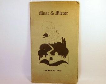 """Seattle Poetry Club """"Northwest Poetry Society"""" Muse & Mirror 1920s (1925) Samsel Fuller"""
