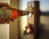 Magnetic Bottle Opener- Walnut
