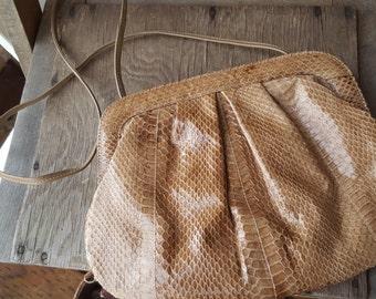 SNAKE  ///    Snake Skin Bag