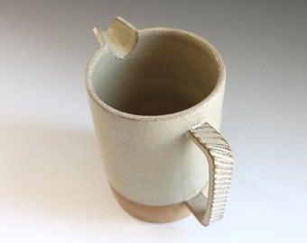 Big Coffee Mug, handmade Stoneware Pitcher, Handmade Ceramic Jug, Pottery Pitcher,