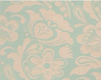 Two 20 x 20  Custom Designer Decorative Pillow Covers for Indoor/Outdoor  - Large Floral Blue