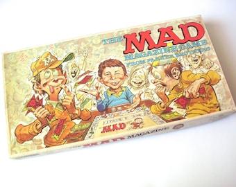 Vintage Mad Magazine Game, Parker Brothers, 1979