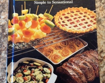 Vintage 1987 1st edition Sears gas grill cookouts  simple to sensational