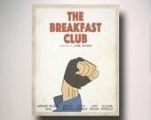The Breakfast Club Minimalist Movie Poster / Wall Art / Movie Film Poster