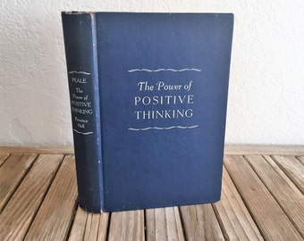 Vintage Book Titled The Power of Positive Thinking Norman Vincent Peale