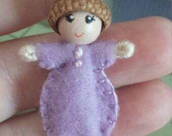 baby girl purple