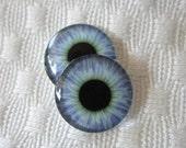 Realistic Blythe doll eyes- eye chips- Blue eyes for blythe dolls