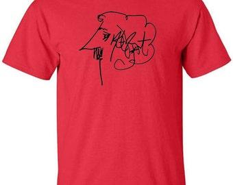 Kurt Vonnegut Autograph T-Shirt Author Signature
